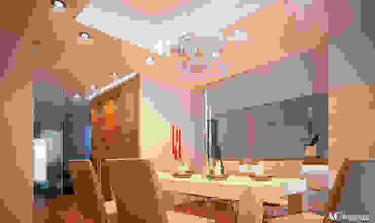 C_House Sala da pranzo moderna di AG Interior Design Moderno