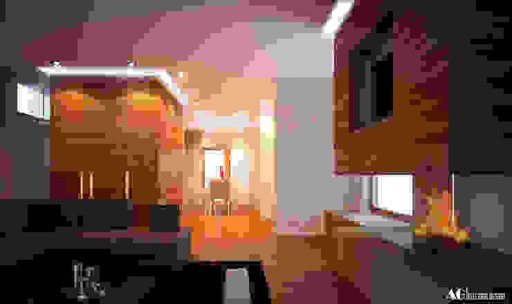 C_House di AG Interior Design Moderno