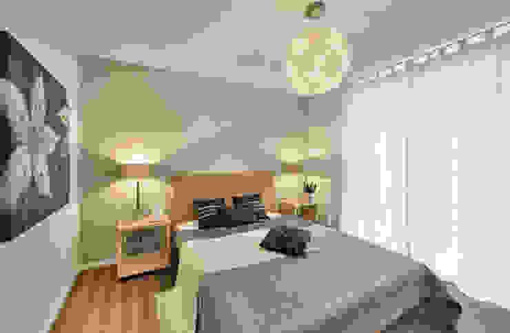 Musterwohnung Mediterrane Schlafzimmer von ADANK Bauträgergesellschaft GmbH Mediterran