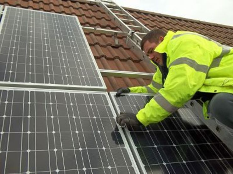 Solar panel installation par BPM Environmental