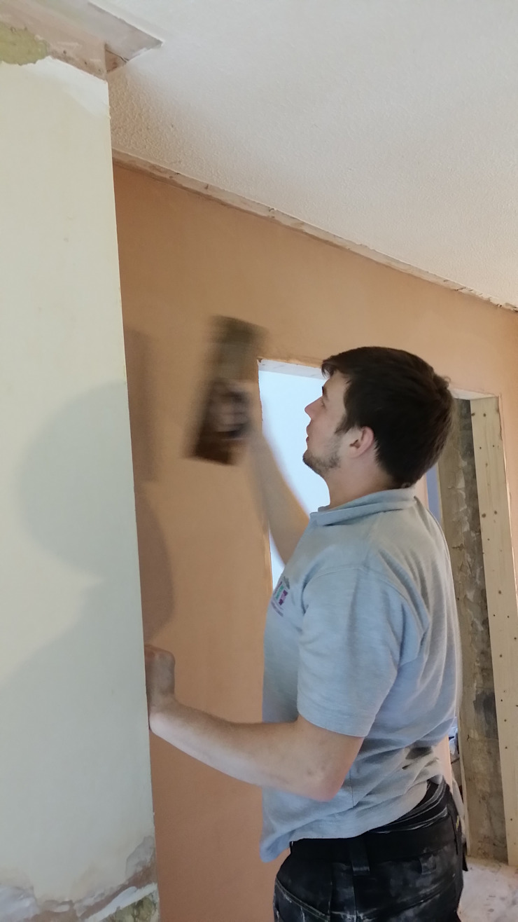 Plastering Classic style walls & floors by BPM Painting & Decorating Classic