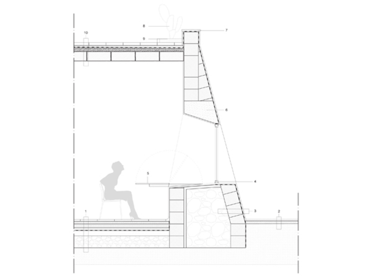 Casa al Mare, 2009 Case di MFA Architects