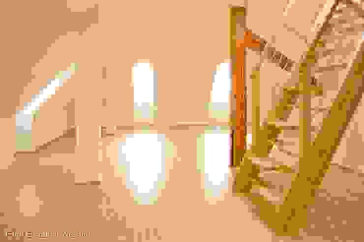 客廳室 根據 Architekturbüro Ferdinand Weber