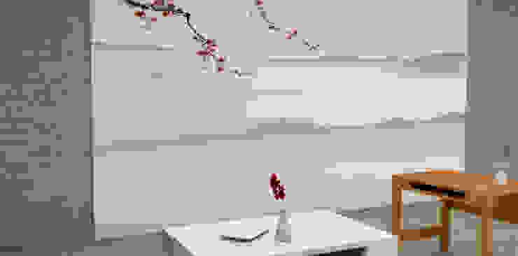Tapisserie décor Japonnais Locaux commerciaux & Magasin asiatiques par YEDA Asiatique