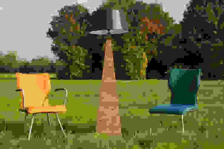 Stoelen met teakhouten lamp van Teak & Wood Landelijk