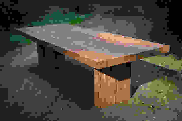 Stoere teakhouten tafels van Teak & Wood Landelijk