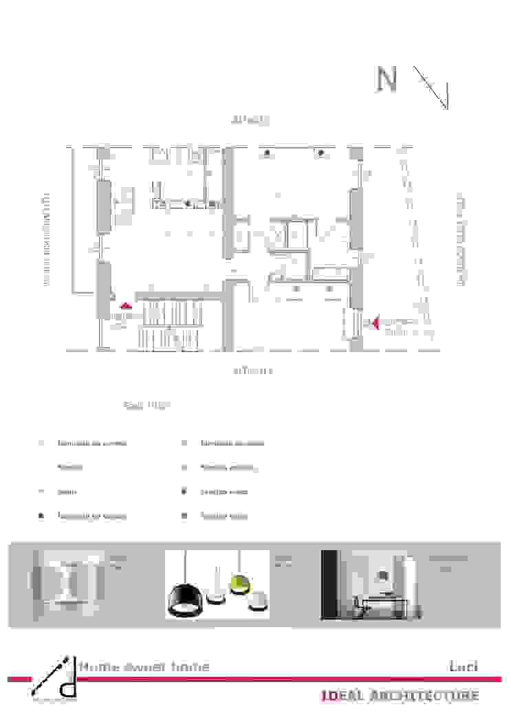 _Pogetto luci Case moderne di Idealarchitecture Moderno