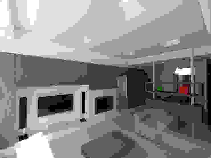 Moderne Wohnzimmer von pt architetti Modern