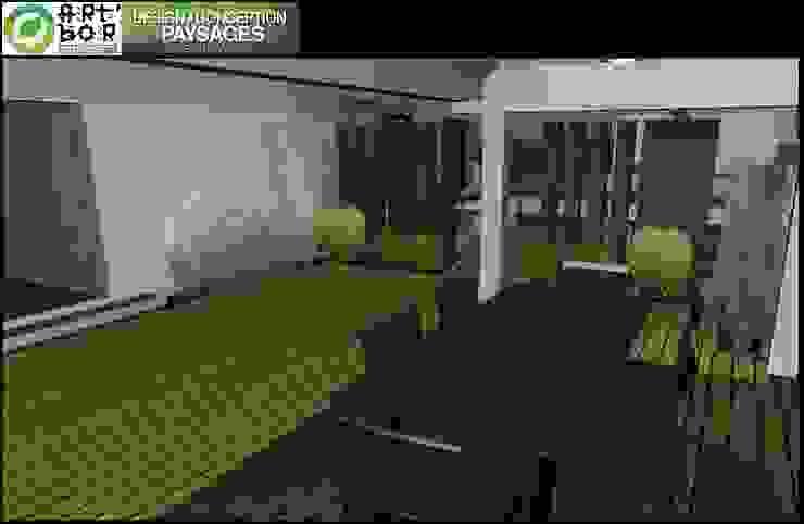 Art Bor Concept Modern balcony, veranda & terrace