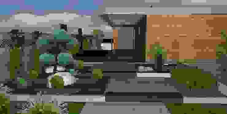 Art Bor Concept Jardines de estilo moderno