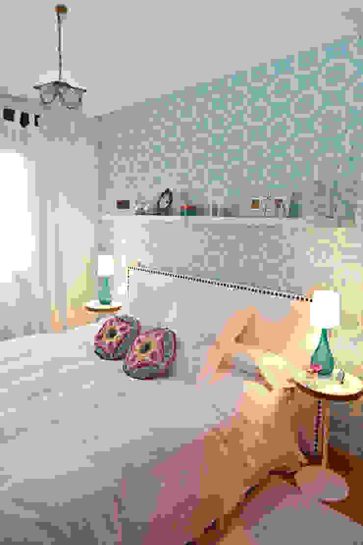 Vivienda en Madrid Dormitorios de estilo moderno de www.rocio-olmo.com Moderno