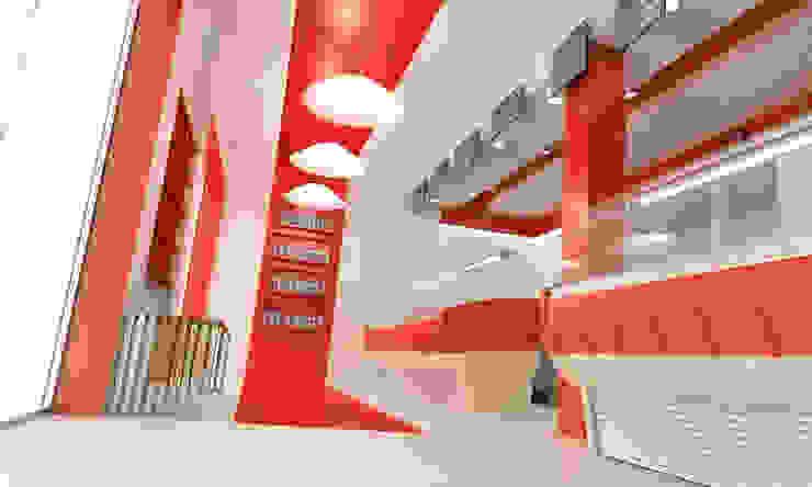 Render Interior de AG INTERIORISMO Moderno
