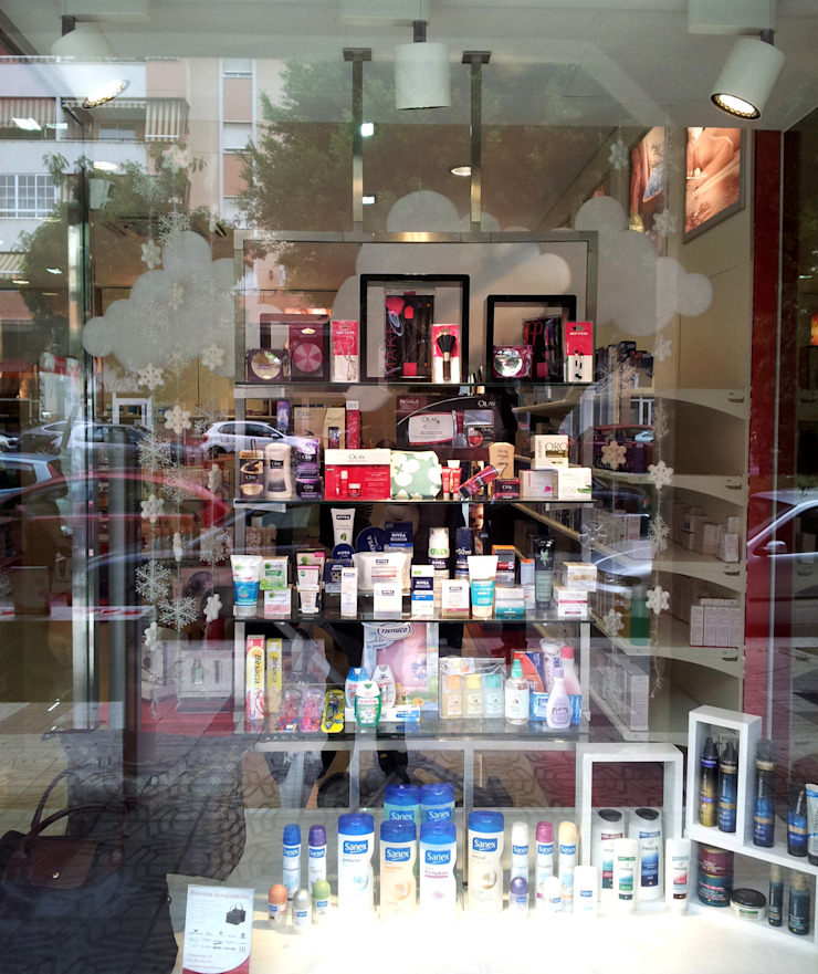 Escaparatismo & visual merchandising de AG INTERIORISMO Moderno