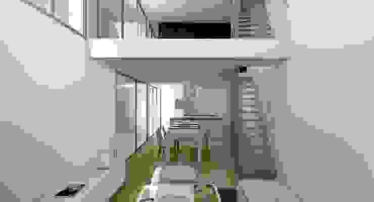 In & Out Casas de estilo moderno de Binomio Estudio Moderno