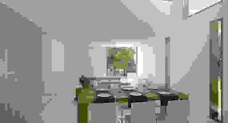 Casas modernas de Binomio Estudio Moderno