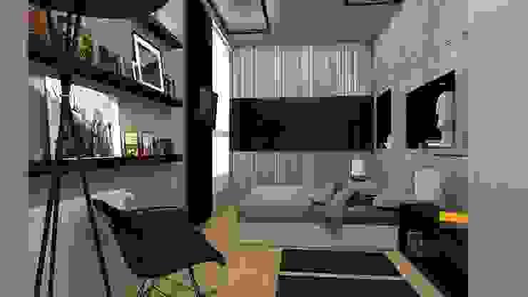 Reforma de Apto. Dormitorios de estilo moderno de AG INTERIORISMO Moderno