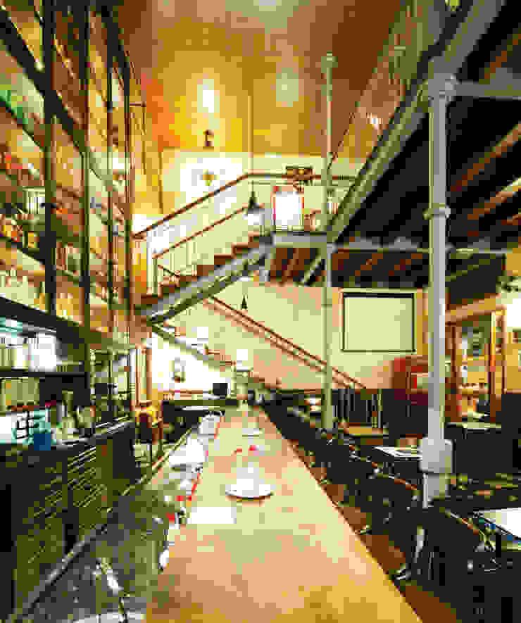 Mascarenhas Arquitetos Associados Bares y clubs de estilo rústico