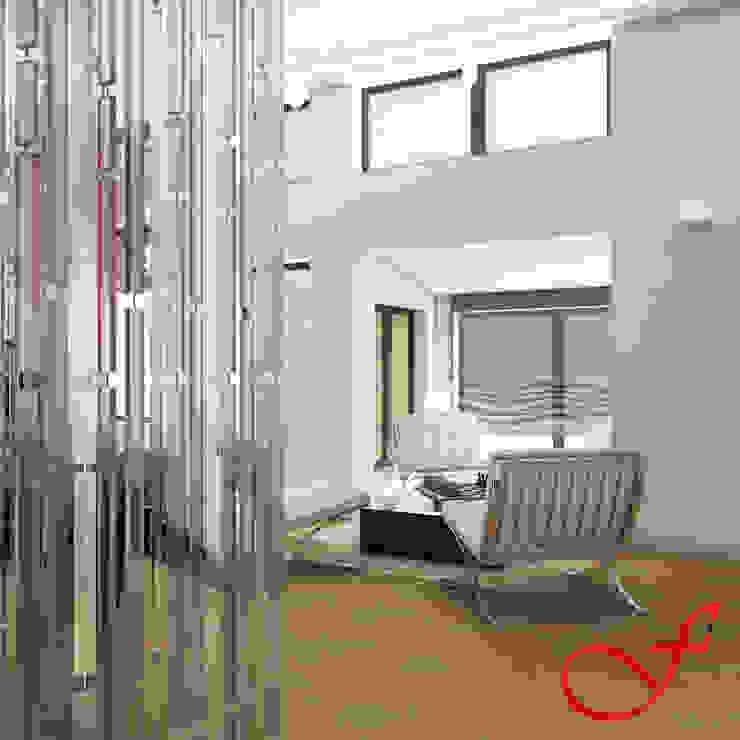Estudios y oficinas modernos de Fenice Interiors Moderno