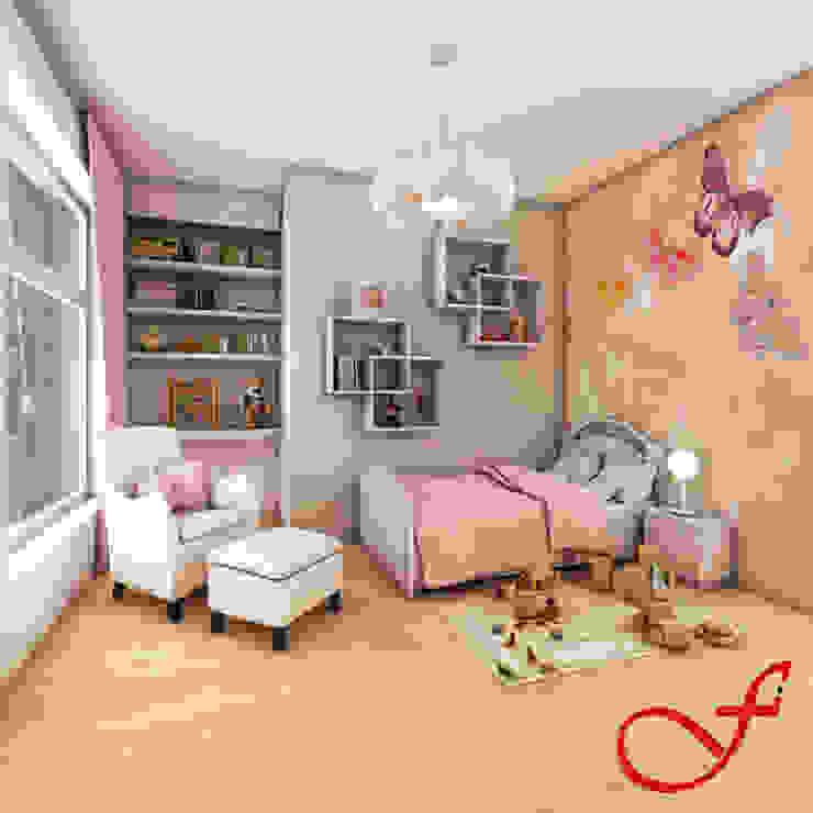 Quarto infantil moderno por Fenice Interiors Moderno
