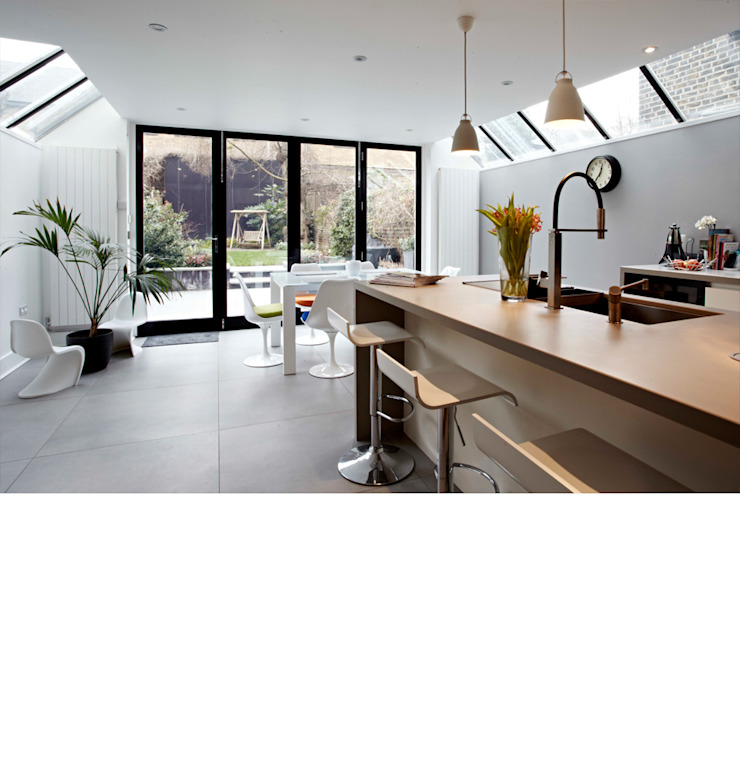Fulham Town House Modern kitchen by PAD ARCHITECTS Modern