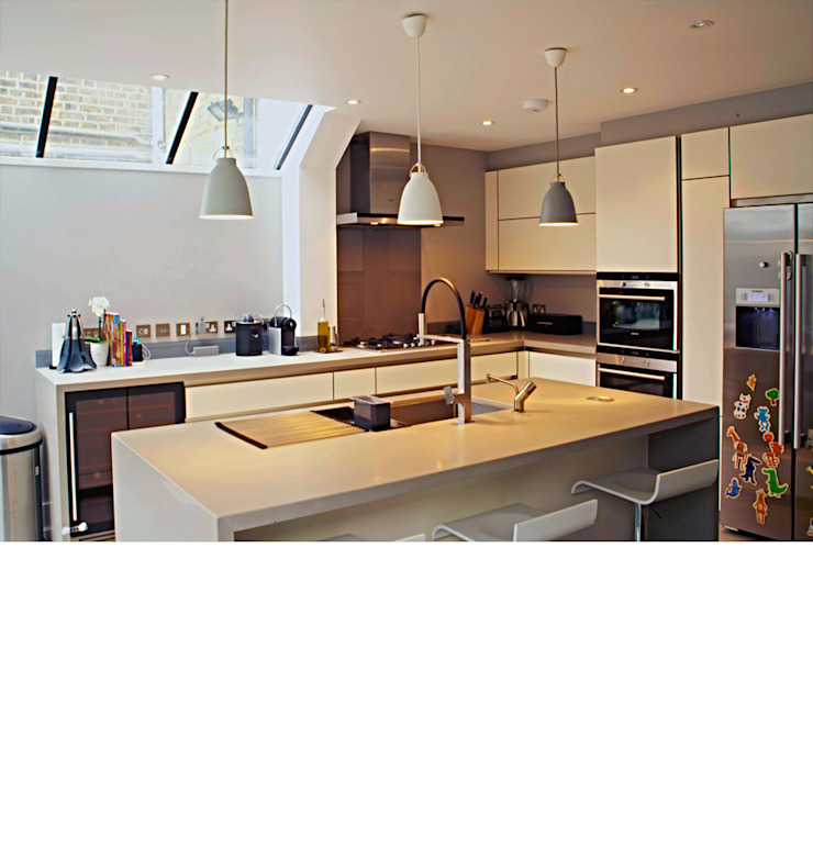 Fulham Town House: modern  by PAD ARCHITECTS, Modern