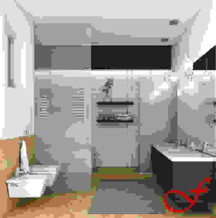 Baños modernos de Fenice Interiors Moderno