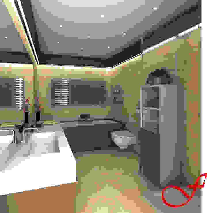 Modern bathroom by Fenice Interiors Modern