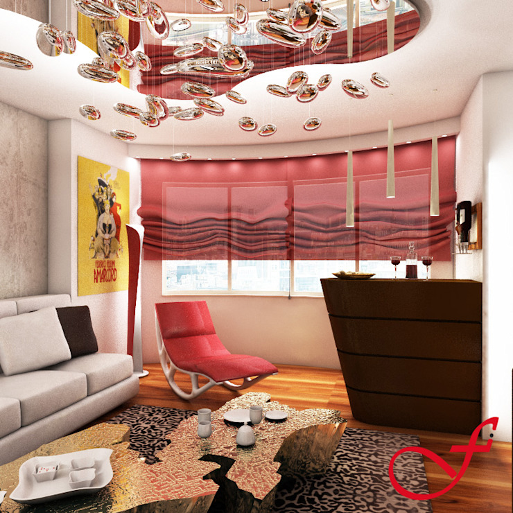 Residenza privata SG Stanza dei bambini eclettica di Fenice Interiors Eclettico