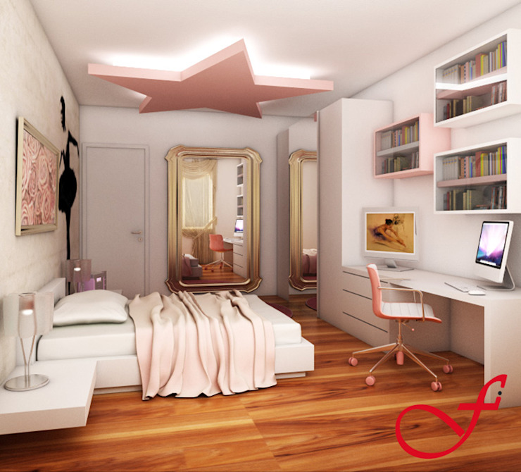 Residenza privata SG di Fenice Interiors Eclettico