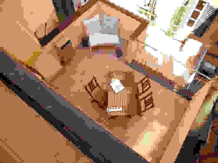 Balkon, Beranda & Teras Gaya Eklektik Oleh ALESSANDRA ALFIERI ARCHITETTO Eklektik