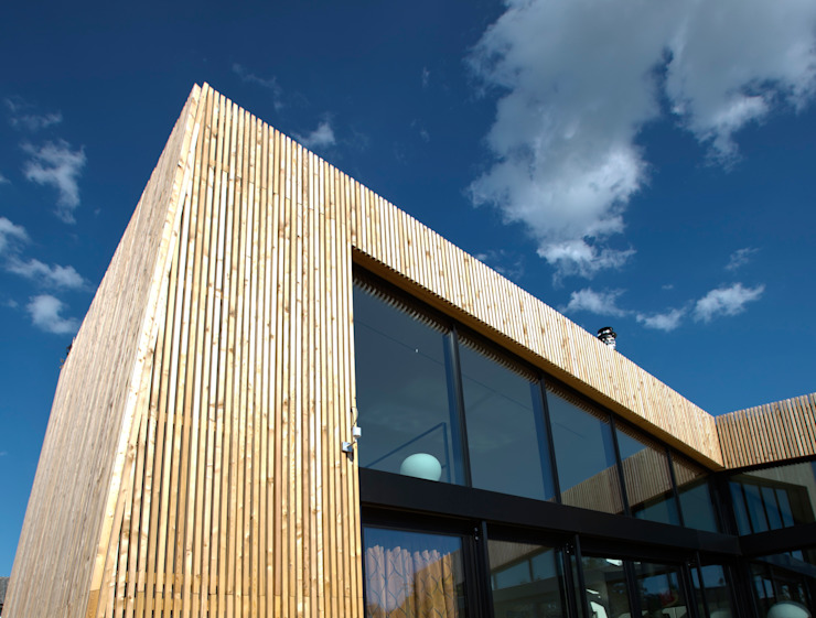 Casas modernas de vollmilch. Das Architekturbüro. Moderno