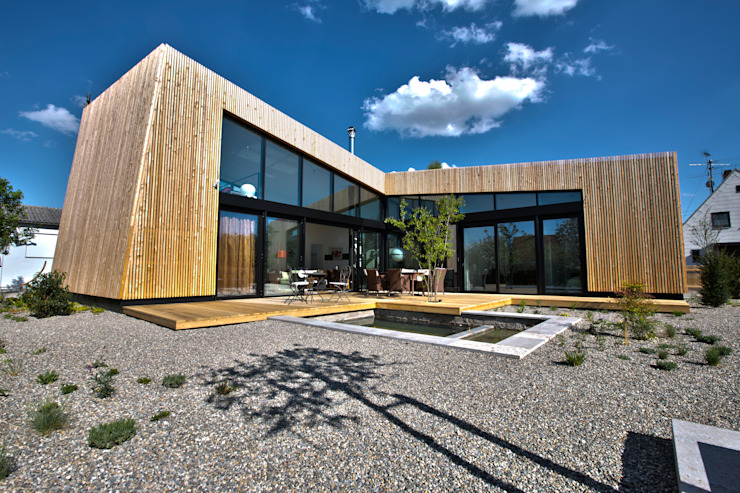 Modern houses by vollmilch. Das Architekturbüro. Modern