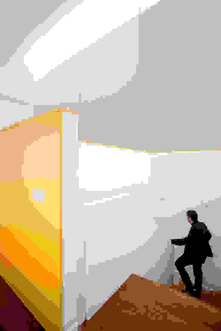 Modern corridor, hallway & stairs by Cadaval & Solà-Morales Modern