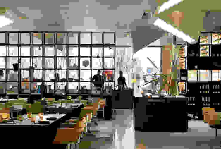 Roca MOO Gastronomía de estilo moderno de Sandra Tarruella Interioristas Moderno