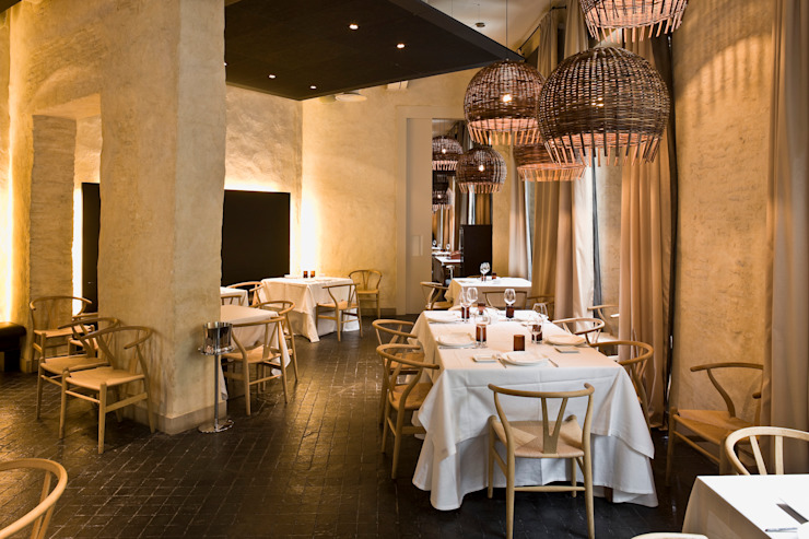Hotel EME in Seville, Spain Donaire Arquitectos Eclectic style offices & stores