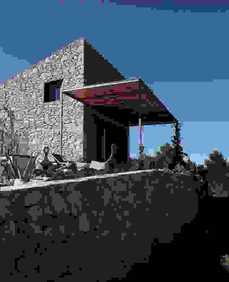 Weenkend pavilion Casas de estilo rural de Borja Garcia Studio Rural