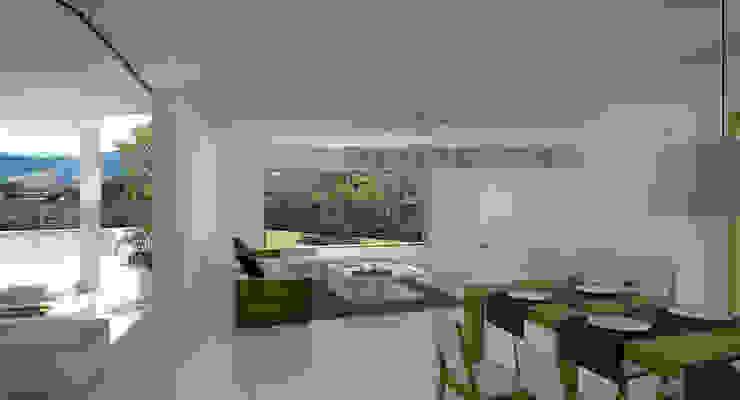 Casas estilo moderno: ideas, arquitectura e imágenes de Binomio Estudio Moderno