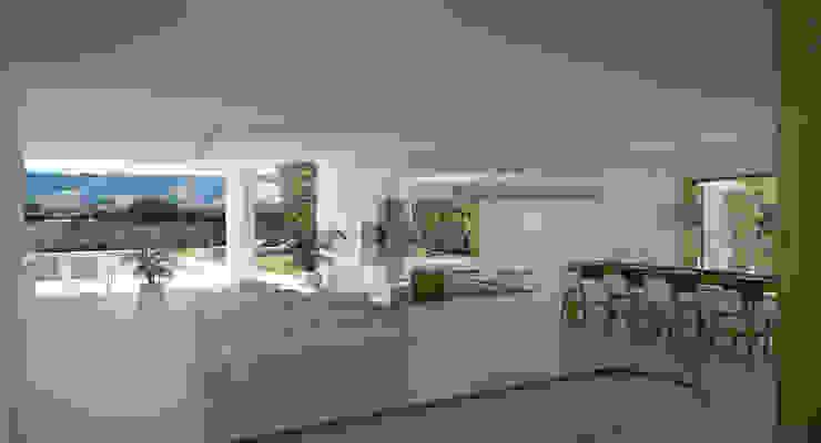 Puzzle Casas de estilo moderno de Binomio Estudio Moderno
