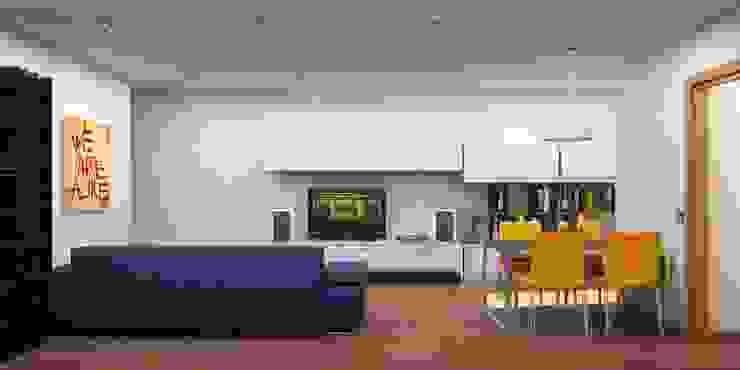 Salas de jantar modernas por NSTUDIO Moderno