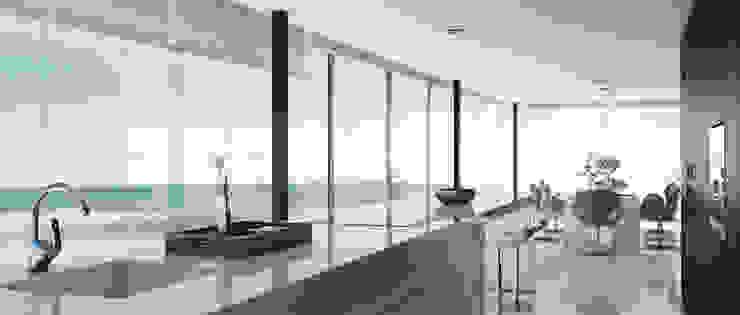 Beach House Casas de estilo minimalista de Diego3dq Minimalista