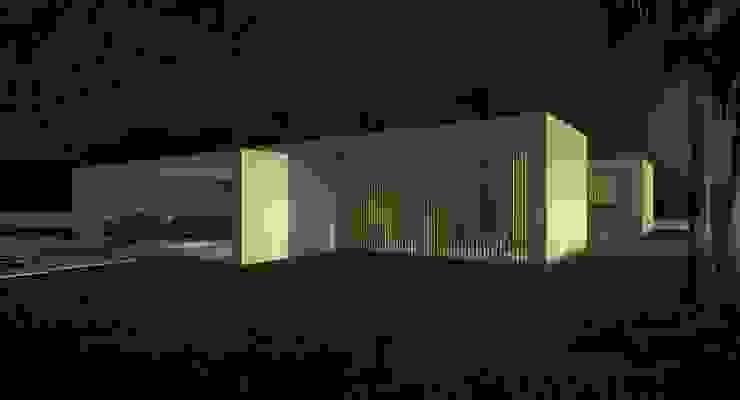 Atrium Casas de estilo moderno de Binomio Estudio Moderno