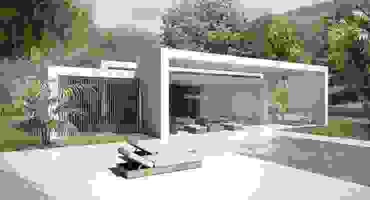 Casas modernas por Binomio Estudio Moderno
