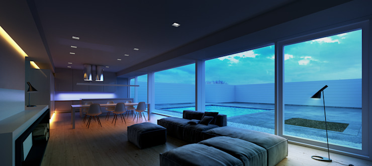 interior living Espacios de dBrenders