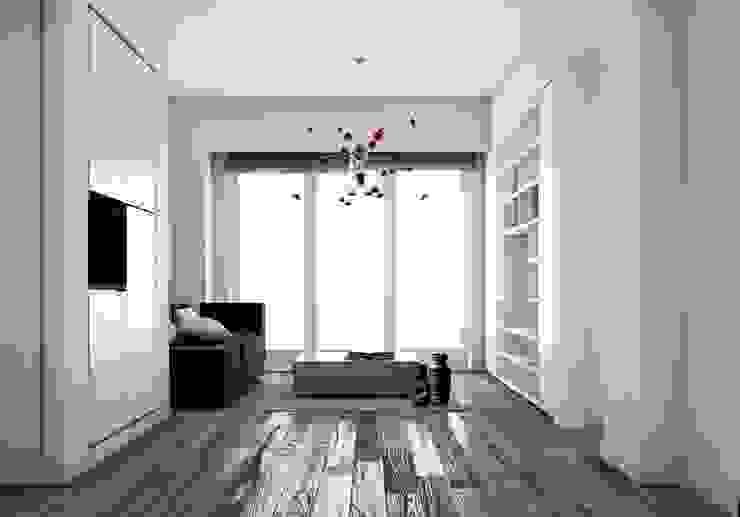 Modern living room by NEAR Network di Architettura Modern
