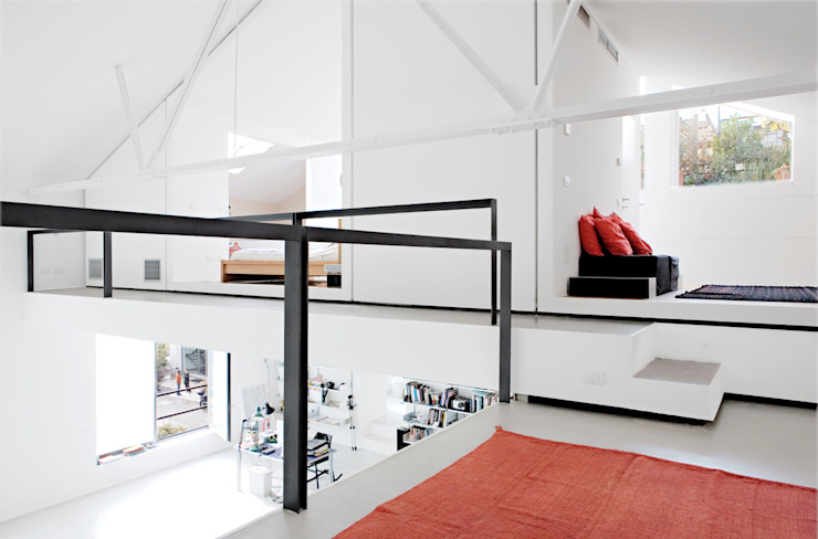 roberto murgia architetto Industrial style bedroom