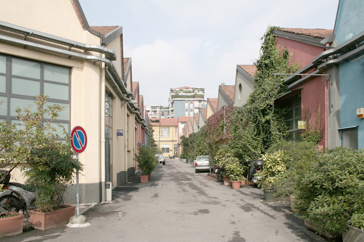 roberto murgia architetto Industrial style houses