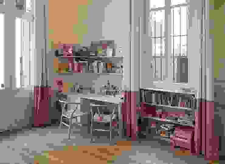 Appartement Luxembourg. Chambre enfant Chambre d'enfant moderne par FELD Architecture Moderne
