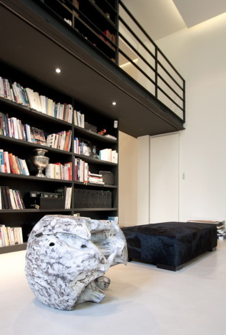 FELD Architecture Modern living room