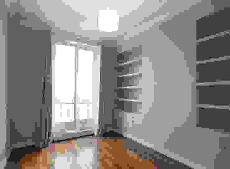 Appartement Saint Germain des Pres Chambre moderne par FELD Architecture Moderne