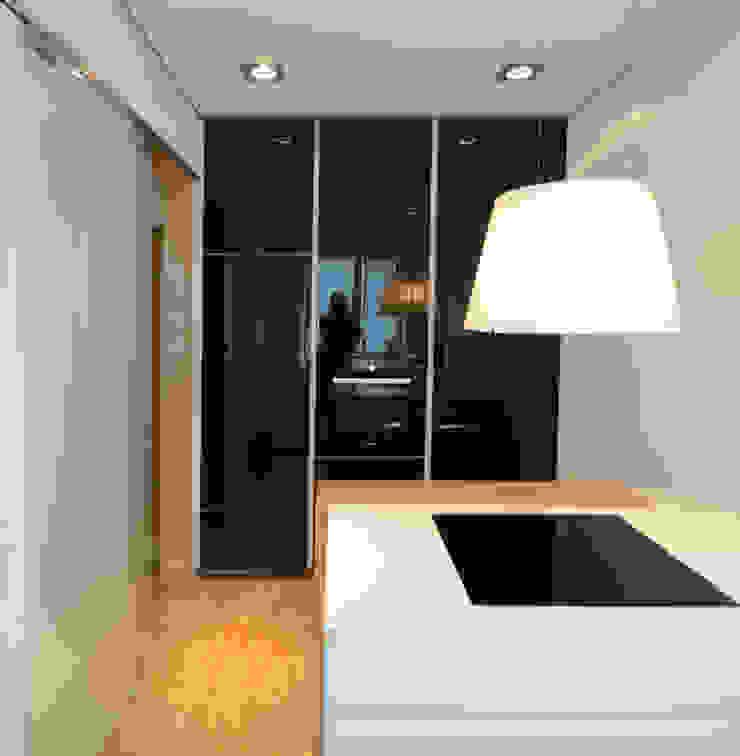 Eigentumswohnung Moderne Küchen von roomanddesign.com | Florian Stefan Schafhäutl Modern
